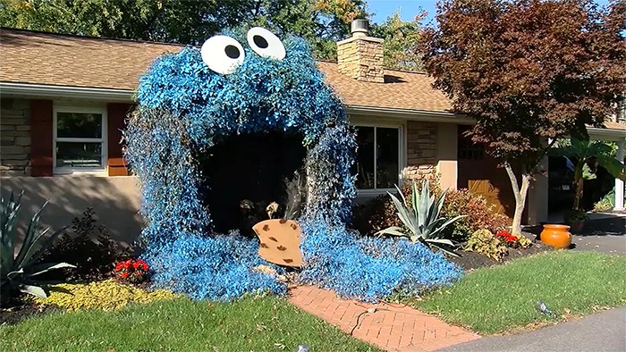 cookie monster house entrance