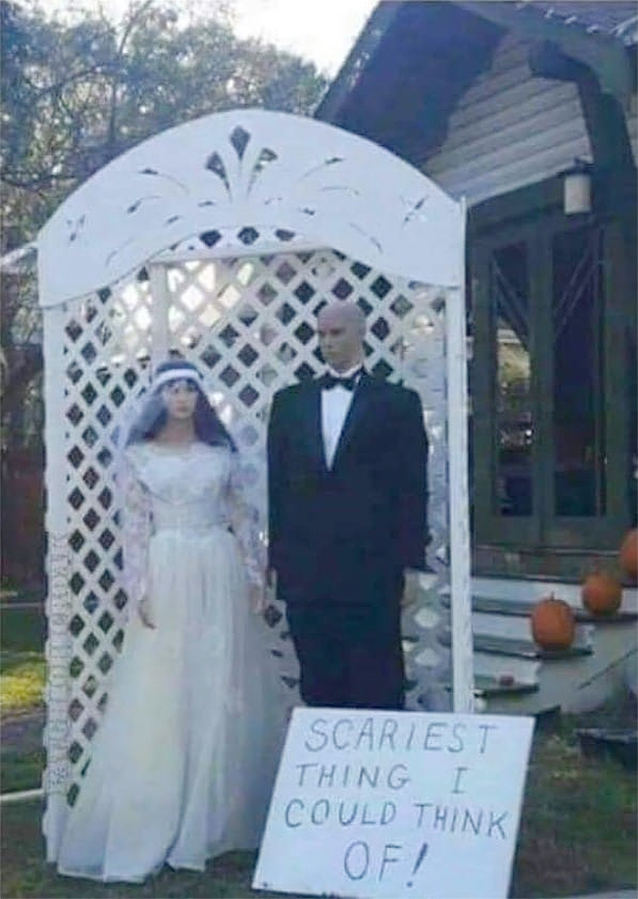 creative halloween decorations scary marriage