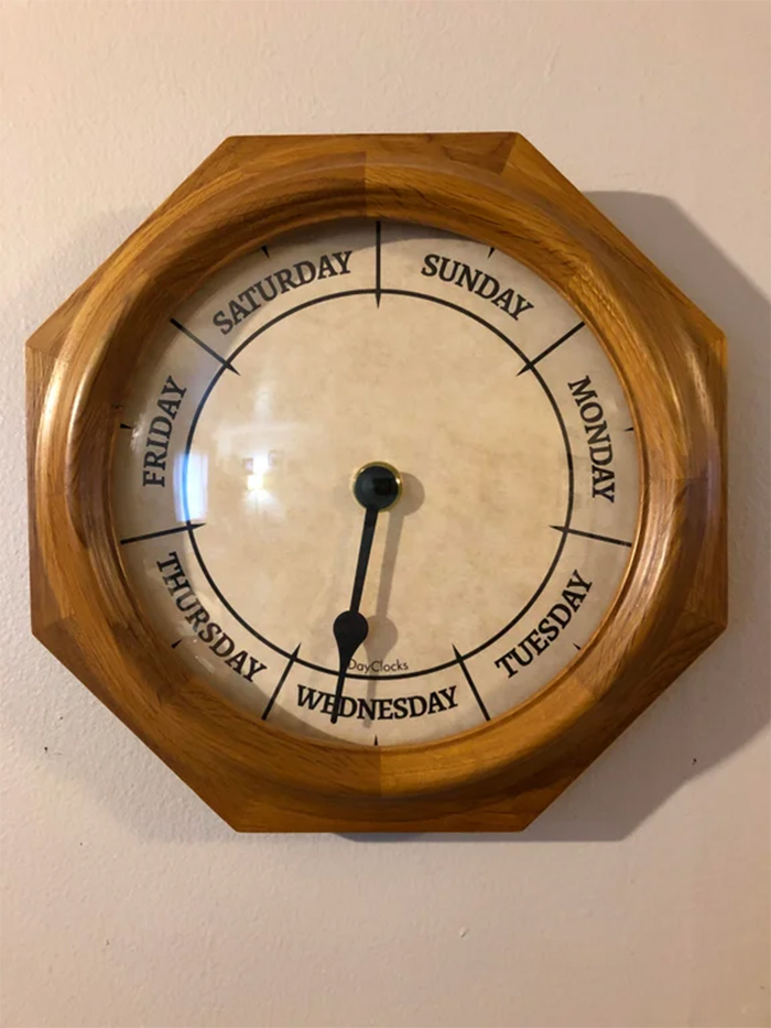 dayclock more useful than expected
