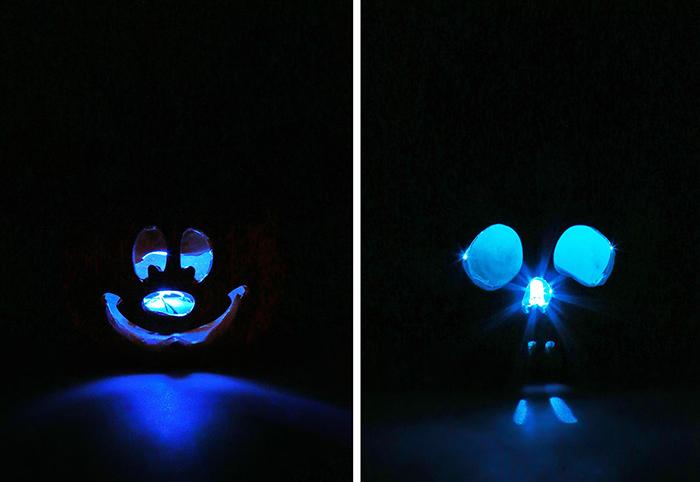 disney halloween succulents light up blue