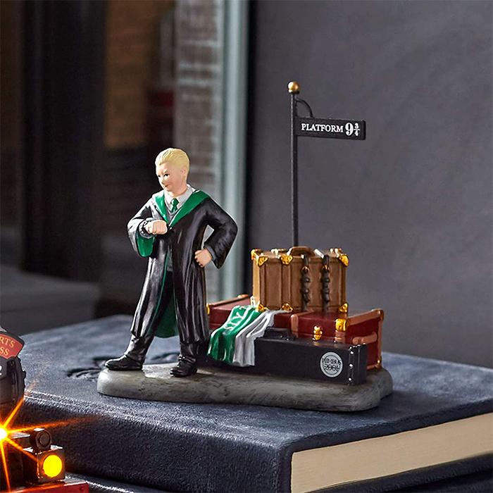 draco at platform 934 figurine village accessory