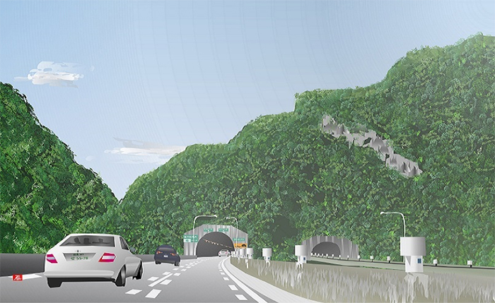 excel spreadsheet paintings takaiwayama tunnel