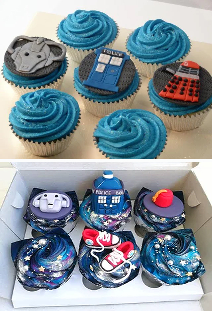 expectation vs reality doctor who cupcakes