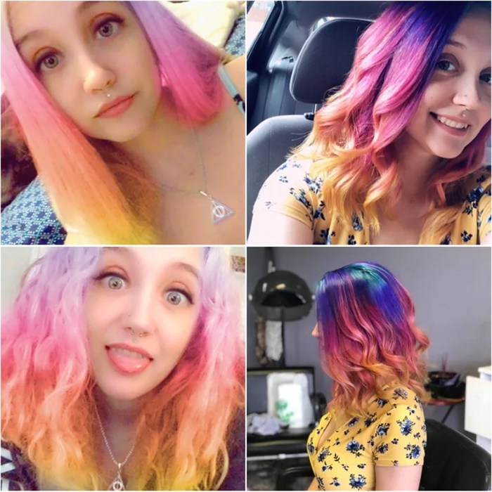 filter vs real hair color