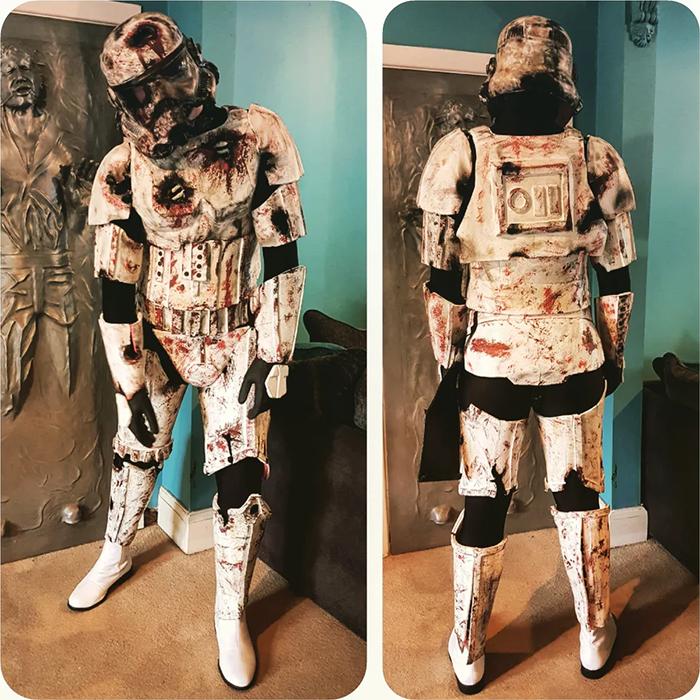 funny halloween costumes zombie stormtrooper