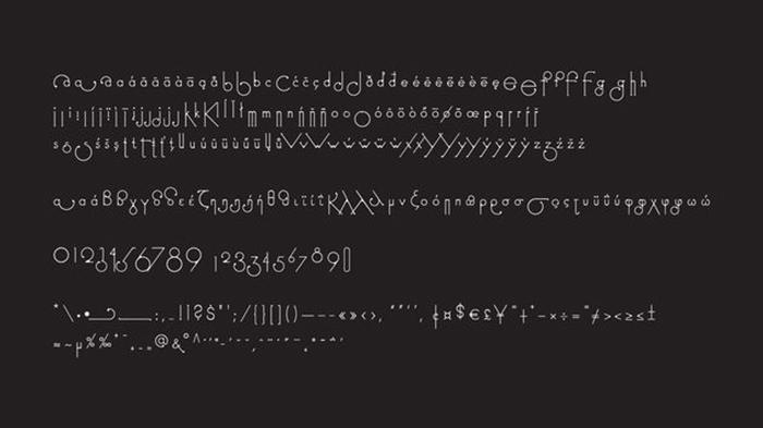 futuracha pro font style set