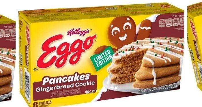 gingerbread cookie pancakes