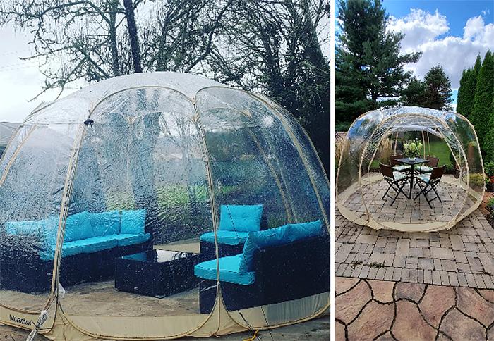 greenhouse transparent pop up tent