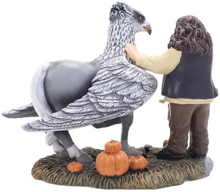 hagrid and hippogriff figurine set decor