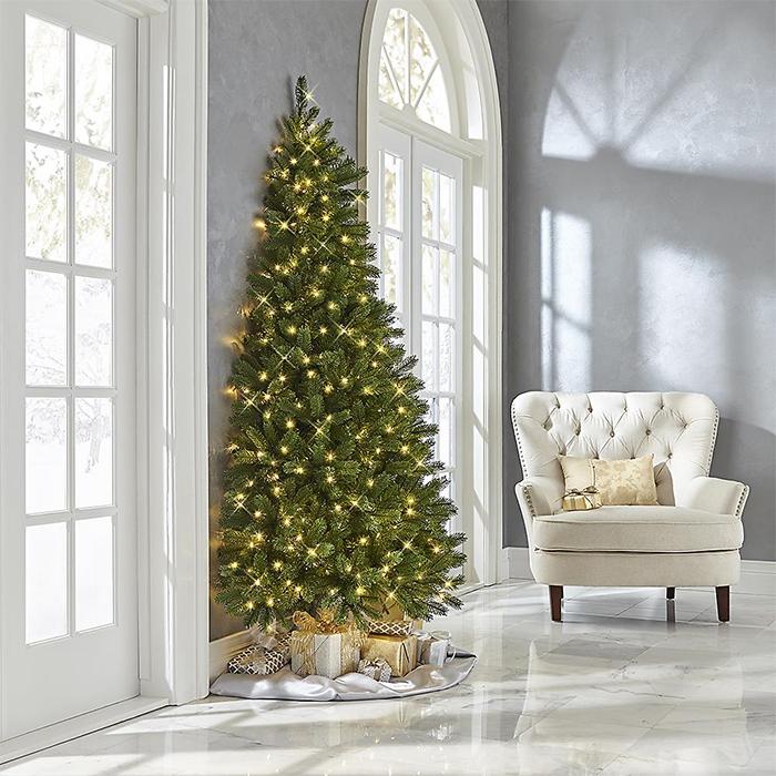 half christmas tree