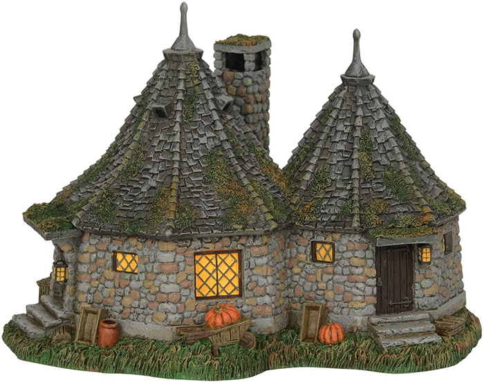 harry potter hagrid hut lit building