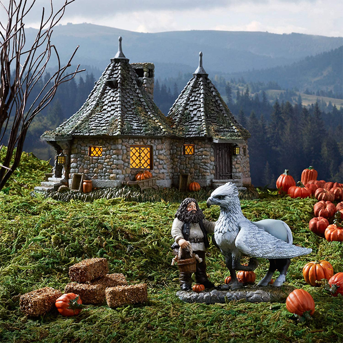 harry potter hagrid hut scale model decor