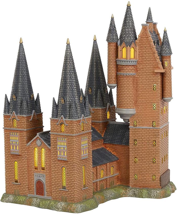 harry potter hogwarts astronomy tower lit building