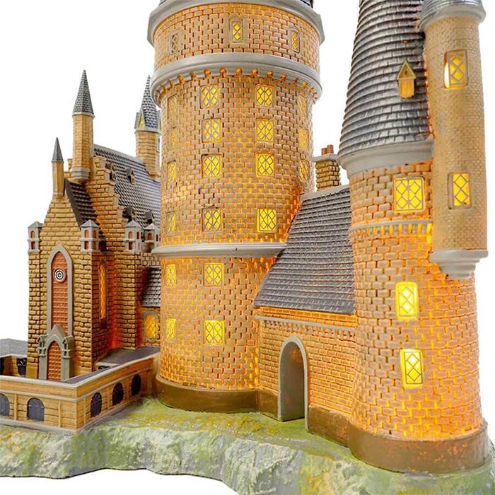 harry potter hogwarts pre-lit building