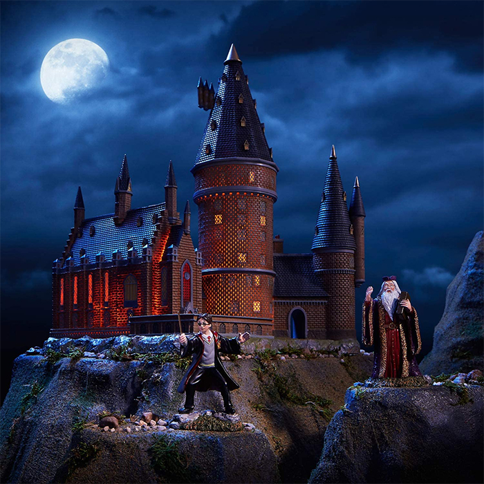harry potter hogwarts scale model decor