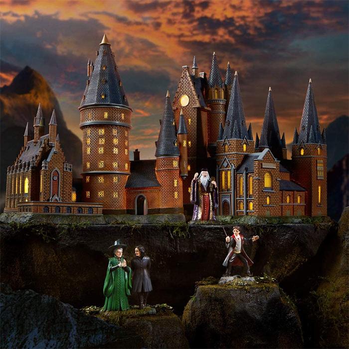 harry potter hogwarts village