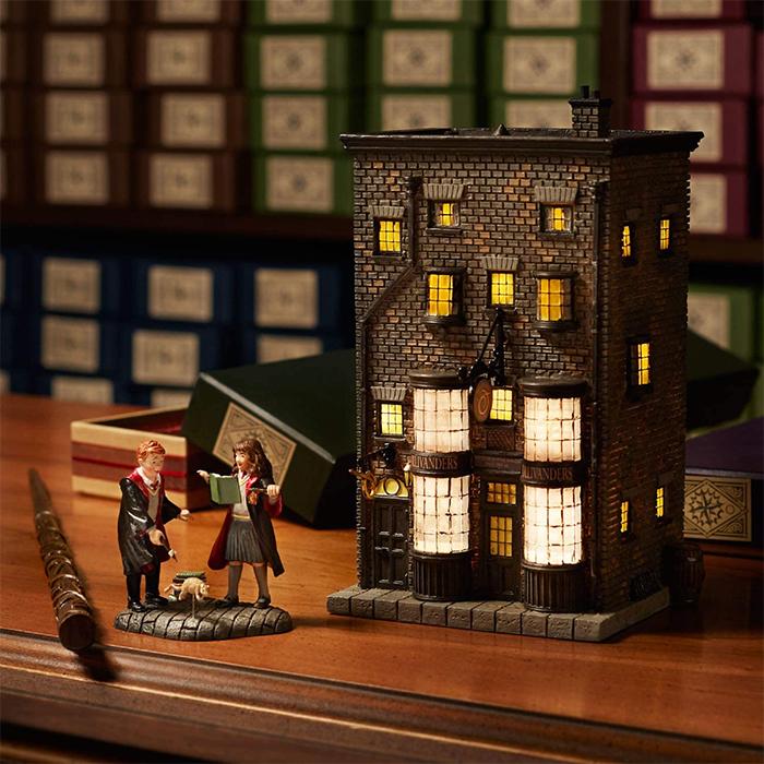 harry potter ollivander wand shop scale model decor