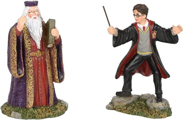 hogwarts headmaster harry potter figurine set