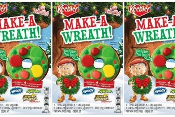 keebler make-a-wreath cookie kit