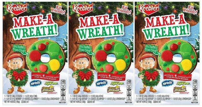 keebler make-a-wreath cookie kit