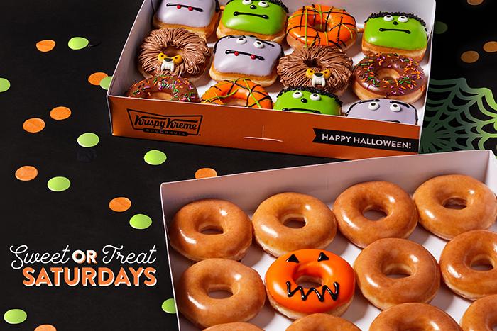 krispy kreme halloween donut dozens