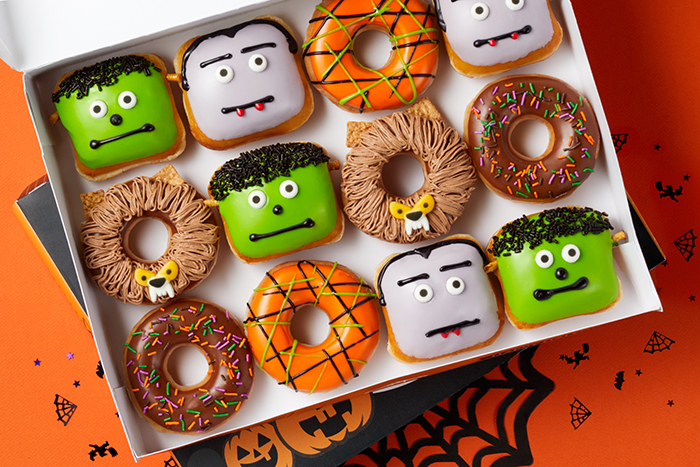 krispy kreme scary sweet monster donuts