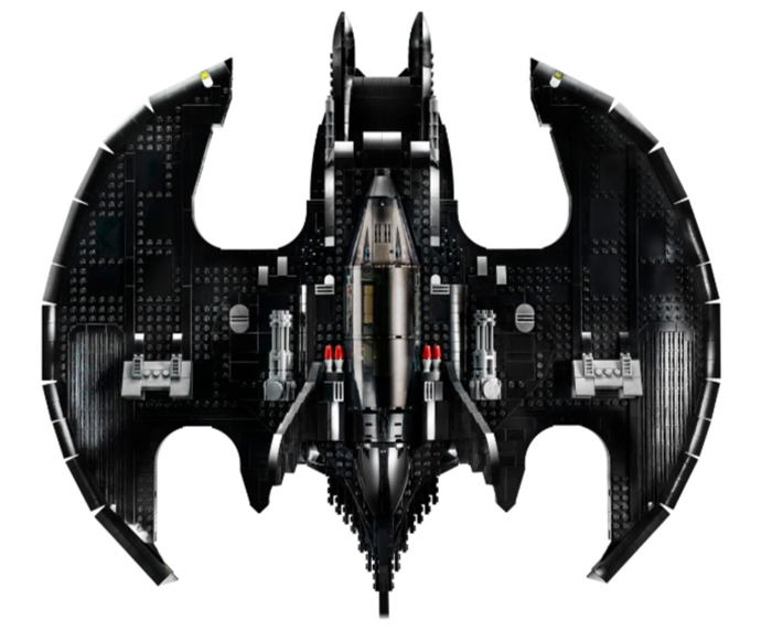 lego batwing detailed model