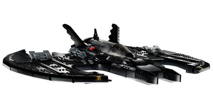 lego batwing scaled model