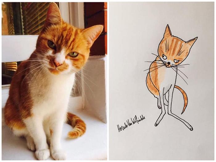 lousy animal drawings hattie