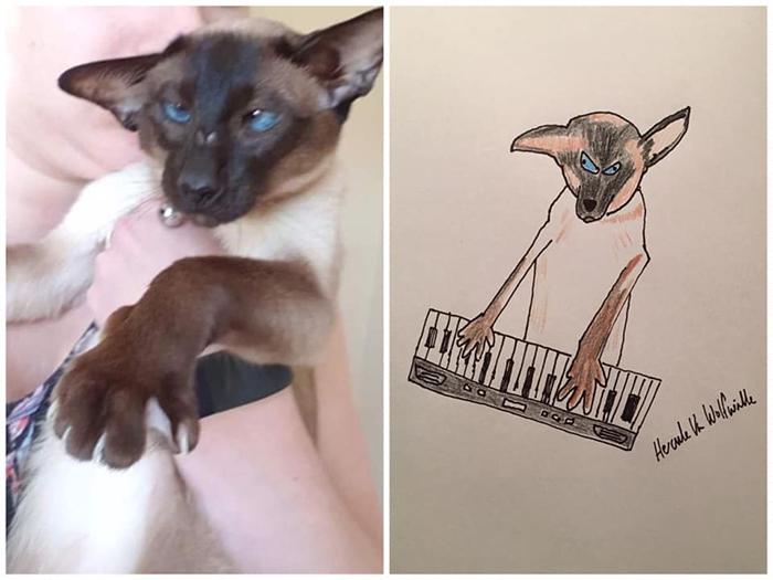 lousy animal drawings ozzy
