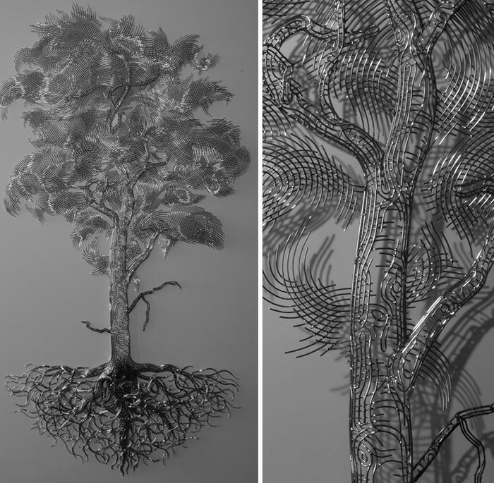 martin debenham figurative tree