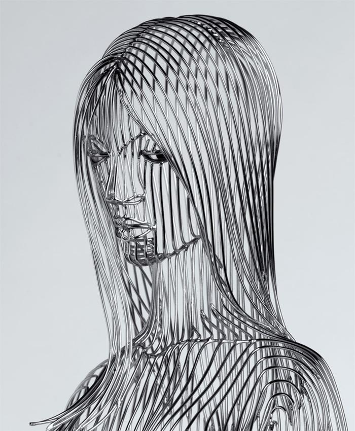 martin debenham figurative woman