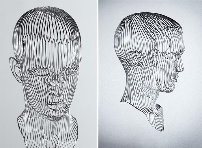 martin debenham self-portrait