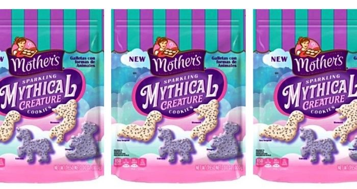sparkling mythical creature cookies