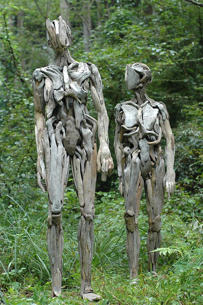 nagato iwasaki wooden humanoids