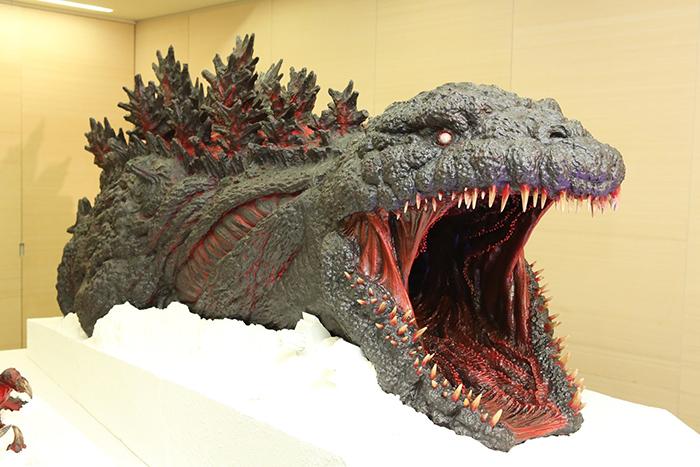 nijigen no mori theme park godzilla attraction scale model
