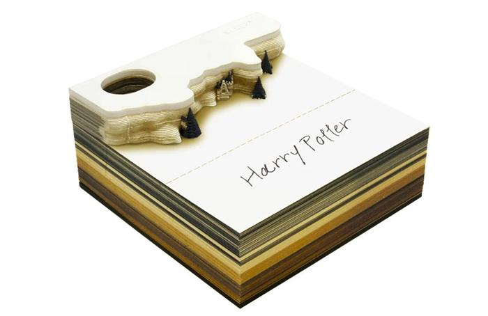omoshiroi block harry potter note pad