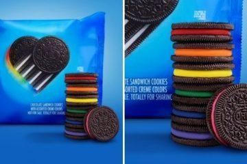 oreo rainbow cookies