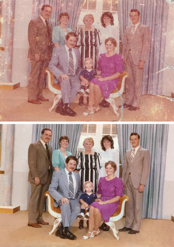 photo restoration turned out better than expected