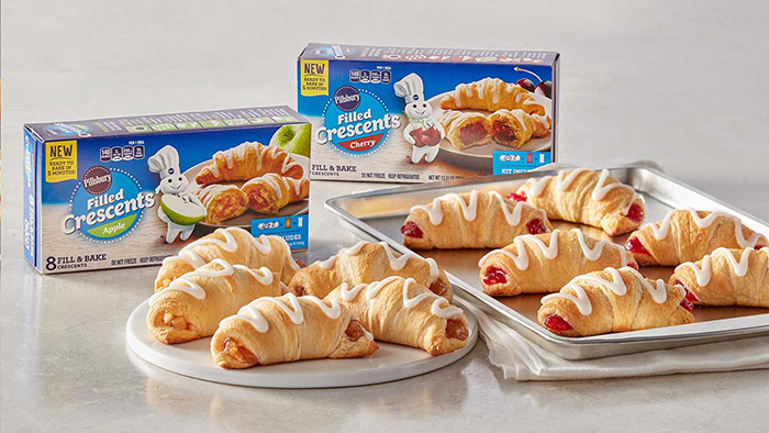pillsbury filled crescents cherry and apple