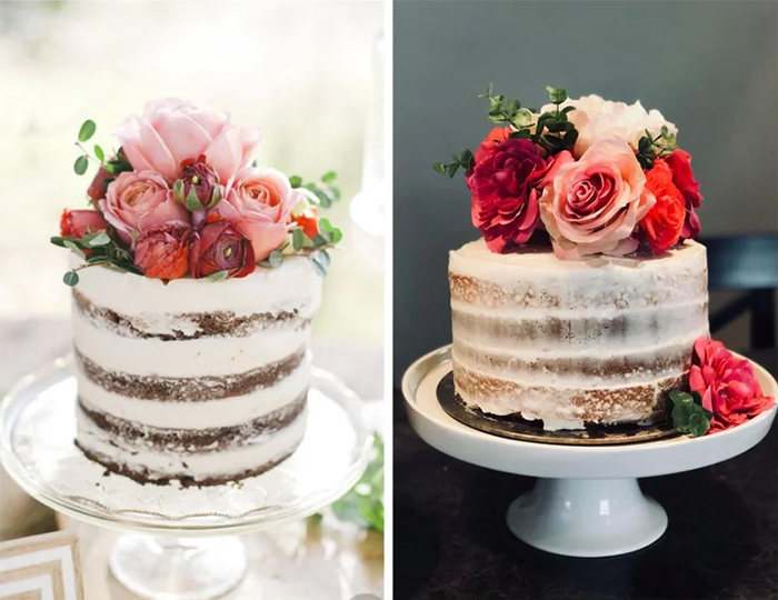 pinterest cake recreated