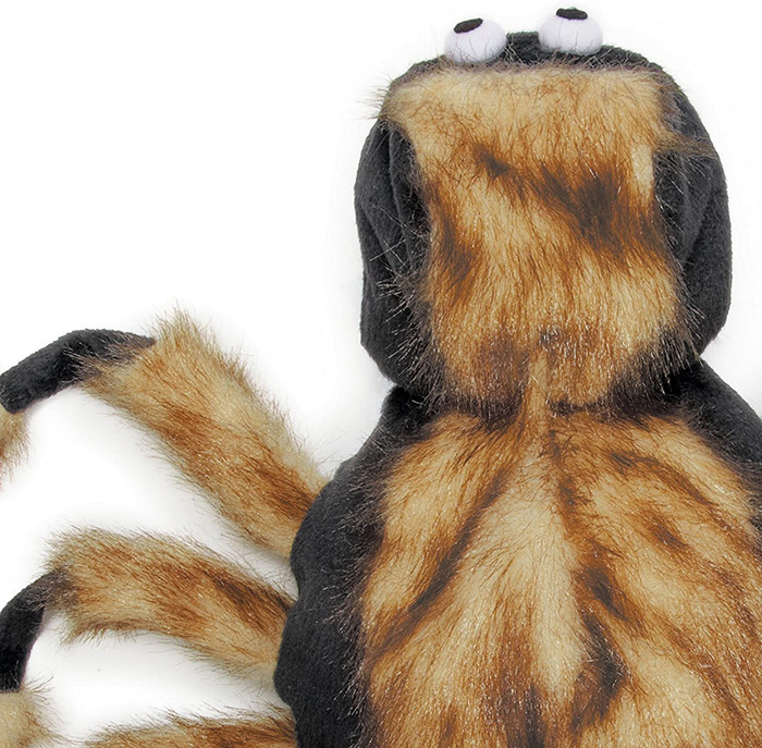 realistic spider costume for pets