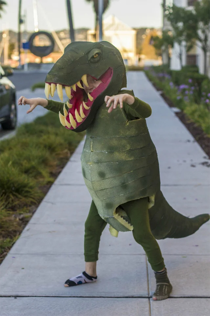 realistic t-rex costume