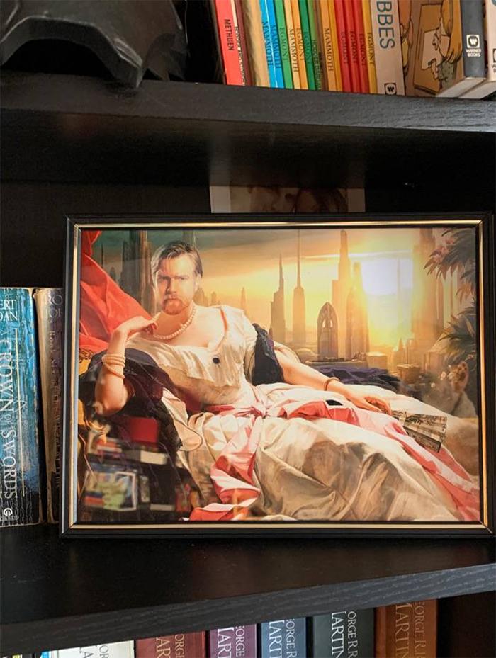 star wars art mashup historical painting