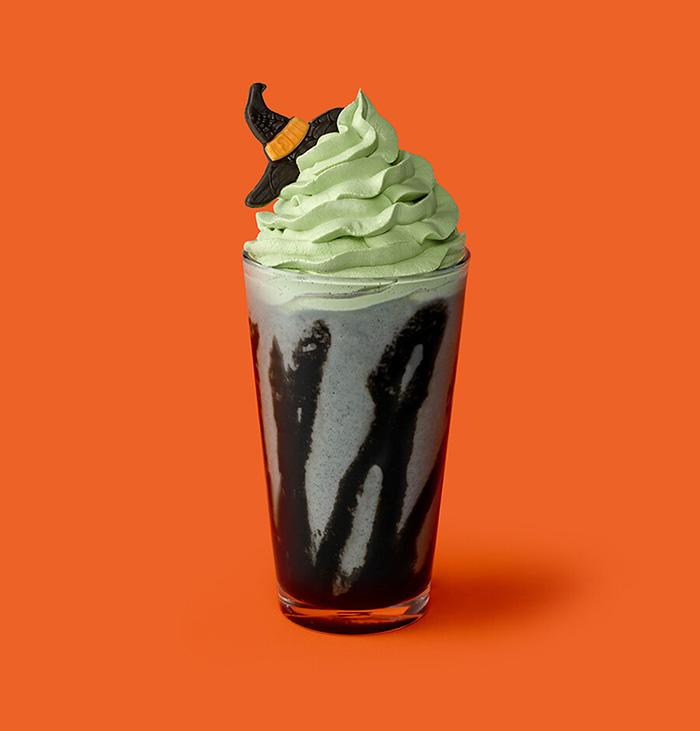 starbucks korea little witch halloween cream frappuccino
