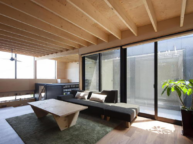 sunlit lounge
