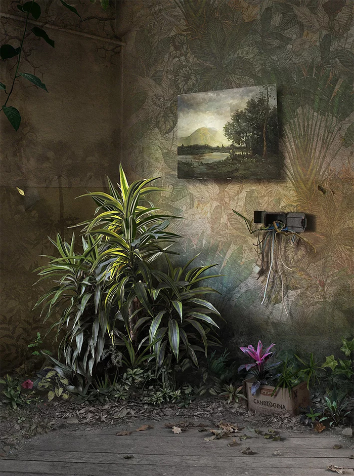 suzanne moxhay matte painting hybrid