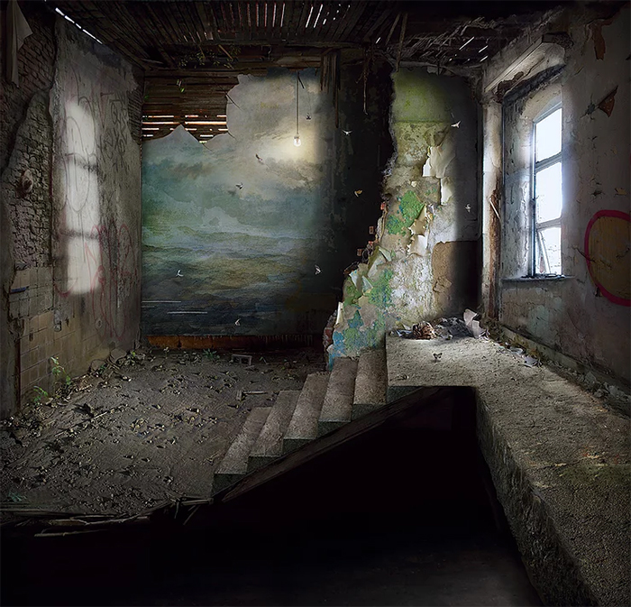 suzanne moxhay matte painting mezzanine