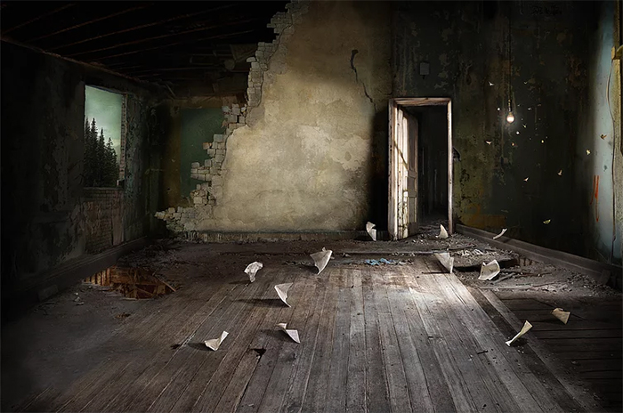 suzanne moxhay photomontages antechamber