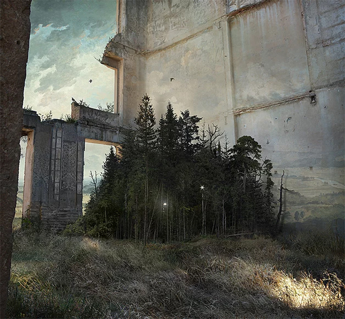 suzanne moxhay photomontages arboretum